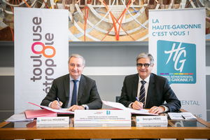 Signature Accord de Coopération CD31 - TM