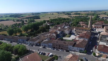 Village de Cadours - Images Drone 2 SD
