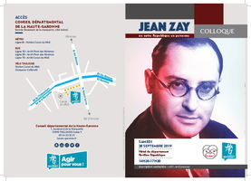 flyer-colloque Jean Zay
